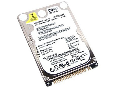 "NEW WD1600BEVE WD Scorpio Blue 160GB 5400RPM 2.5/"" Internal Hard Drive"