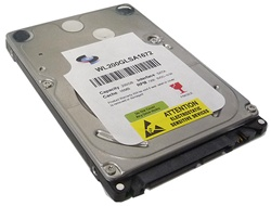 "White Label 200GB 8MB Cache 5400RPM SATA 2.5"" Internal Notebook Hard Drive w/1-Year Warranty"