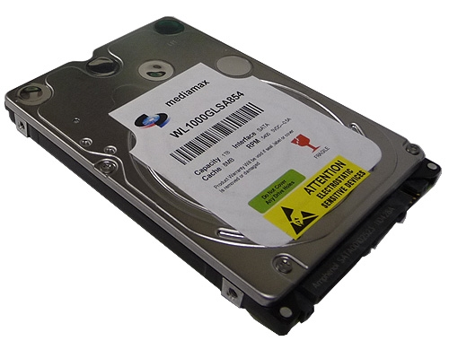 Notebook Hard Drive W Larger Photo