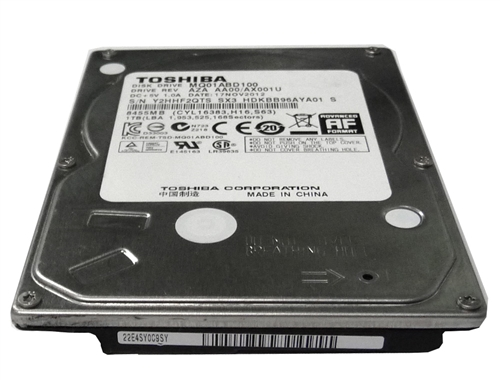 "Toshiba MQ01ABD100 1TB 5400RPM SATA 2.5/"" Internal Laptop Hard Drive"