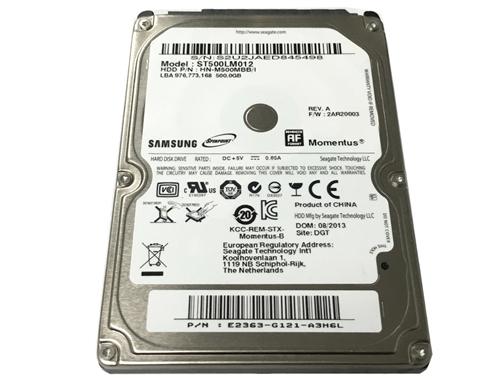 "Seagate Samsung Momentus ST500LM012 500GB 2.5/"" SATA III Laptop Hard Drive"