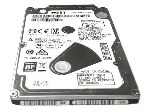 500GB 7200RPM 32MB 9,5MM SATA