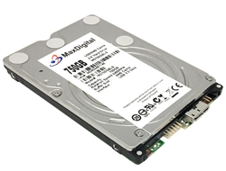 "MaxDigital 750GB 8MB 5400RPM 2.5"" USB 3.0 Internal Mobile Hard Drive w/1-Year Warranty"