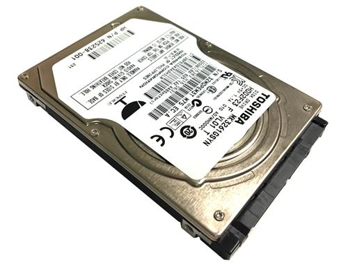 """Toshiba MQ01ACF050 500GB 7200 RPM SATA 6.0Gb//s 2.5/"""" Laptop Internal HD"""