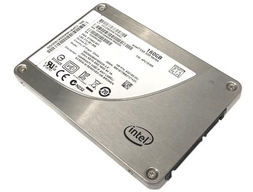 """Intel 2.5/""""  160GB  SOLID STATE SSD Drive SATA"""