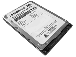 "MaxDigital 1TB 5400RPM 64MB Cache (7mm)  SATA 6.0Gb/s 2.5"" Mobile HDD / Notebook Hard Drive - 2 Year Warranty"