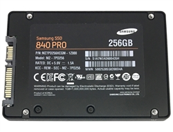 Samsung 840 PRO 256GB 2.5-inch SATA III MLC (6.0Gb/s) Internal Solid State Drive (SSD) (MZ-7PD256) - New OEM w/ 3 Years Warranty
