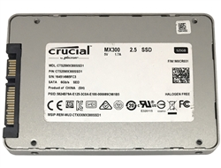 Crucial MX300 CT525MX300SSD1 525GB 2.5-inch SATA III 3D NAND (6.0Gb/s) Internal Solid State Drive (SSD) (Certified Refurbished) - 3 Year Warranty