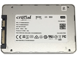 Crucial MX300 CT1050MX300SSD1 1TB 2.5-inch SATA III 3D NAND (6.0Gb/s) Internal Solid State Drive (SSD) - 5 Year Warranty