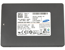 "Samsung PM851 Series (MZ-7TE128D) 128GB TLC SATA 6.0Gb/s 2.5"" Internal Solid State Drives (SSD) (Certified Refurbished) - 2 Year Warranty"