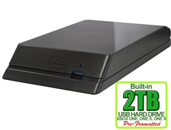 Avolusion HDDGear 2TB USB 3.0 External Gaming Hard Drive (for XBOX ONE, XBOX ONE S, XBOX ONE X) - 2 Year Warranty