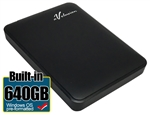 Avolusion 640GB USB 3.0 Portable External Hard Drive (WindowsOS NTFS Pre-Formatted)  HD250U3-Z1 - Retail w/2 Year Warranty
