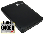 Avolusion 640GB USB 3.0 Portable External Hard Drive (MacOS Pre-Formatted)  HD250U3-Z1 - Retail w/2 Year Warranty