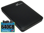 Avolusion 640GB USB 3.0 Portable External PS4 Hard Drive (PS4 Pre-Formatted)  HD250U3-Z1 - Retail w/2 Year Warranty