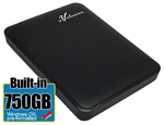 Avolusion 750GB USB 3.0 Portable External Hard Drive (WindowsOS NTFS Pre-Formatted)  HD250U3-Z1 - Retail w/2 Year Warranty