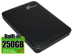 Avolusion 250GB USB 3.0 Portable External XBOX One Hard Drive (XBOX One Pre-Formatted)  HD250U3-Z1 - Retail w/2 Year Warranty