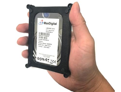 Windows NTFS Pre-Formatted New MDD 500GB USB 3.0 External Portable Hard Drive