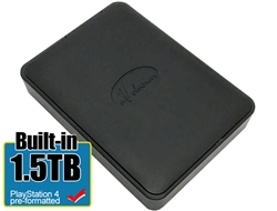 Avolusion 1.5TB USB 3.0 Portable External PS4 Hard Drive (PS4 Pre-Formatted)  HD250U3-X1 - 2 Year Warranty