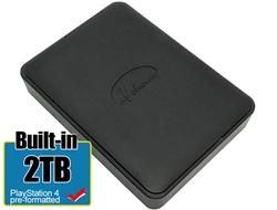 Avolusion 2TB USB 3.0 Portable External PS4 Hard Drive (PS4 Pre-Formatted)  HD250U3-X1-2TB-PS - 2 Year Warranty