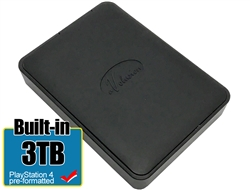 Avolusion 3TB USB 3.0 Portable External PS4 Hard Drive (PS4 Pre-Formatted)  HD250U3-X1-3TB-PS - 2 Year Warranty