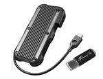 Avolusion ineo (C2594-480G+32G) IP66 Waterproof & Military-Grade Shockproof Rugged Mini 480GB (512GB) USB 3.1 Portable External SSD + Free 32GB USB Flash Drive [Ultra Speed R/W up to 950MB/s]  - 6 Year Warranty