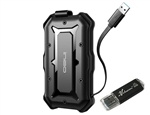 Avolusion ineo (T2566-480G+32G) IP66 Waterproof & Military-Grade Shockproof Rugged 480GB (512GB) USB 3.0 Portable External SSD + Free 32GB USB Flash Drive [Ultra Speed R/W up to 550MB/s] - 6 Year Warranty
