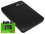 Avolusion 2TB USB 3.0 Portable External XBOX One Hard Drive (XBOX One Pre-Formatted) HD250U3-Z1-2TB-XBOX - 2 Year Warranty