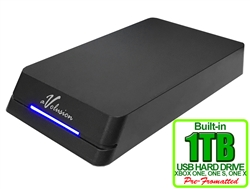 Avolusion HDDGear Pro 1TB USB 3.0 External Gaming Hard Drive (for XBOX ONE, XBOX ONE S, XBOX ONE X) - 2 Year Warranty