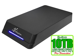 Avolusion HDDGear Pro 10TB USB 3.0 External Gaming Hard Drive (for XBOX ONE, XBOX ONE S, XBOX ONE X) - 2 Year Warranty