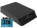 Avolusion Mini HDDGear Pro 3TB USB 3.0 Portable External PS4 Hard Drive (PS4 Pre-Formatted)  HD250U3-X1-PRO-3TB-PS - 2 Year Warranty