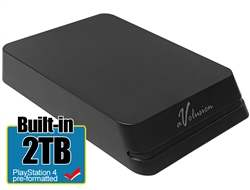 Avolusion Mini HDDGear Pro 2TB USB 3.0 Portable External PS4 Hard Drive (PS4 Pre-Formatted)  HD250U3-X1-PRO-2TB-PS - 2 Year Warranty