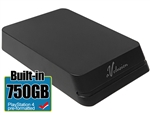 Avolusion Mini HDDGear Pro 750GB USB 3.0 Portable External PS4 Hard Drive (PS4 Pre-Formatted)  HD250U3-X1-PRO-750GB-PS - 2 Year Warranty