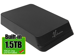 Avolusion Mini HDDGear Pro 1.5TB USB 3.0 Portable External Gaming Hard Drive for XBOX (XBOX One Pre-Formatted)  HD250U3-X1-PRO-1.5TB-XBOX - 2 Year Warranty