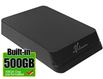 Avolusion Mini HDDGear Pro 500GB USB 3.0 Portable External Gaming Hard Drive for XBOX (XBOX One Pre-Formatted)  HD250U3-X1-PRO-500GB-XBOX - 2 Year Warranty