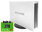 Avolusion PRO-5X Series 3TB USB 3.0 External Gaming Hard Drive for XBOX One Original, S & X (White) - 2 Year Warranty