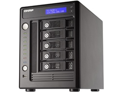 QNAP 5-Terabyte (5000GB) Turbo NAS TS-509 Pro 5-Bay High Performance RAID 0/1/5/JBOD RAID Network Attached Storage Server with iSCSI - powered by Western Digital 1TB WD10EADS 32MB Cache 7200RPM SATA Hard Drive w/ 3 Year Warranty