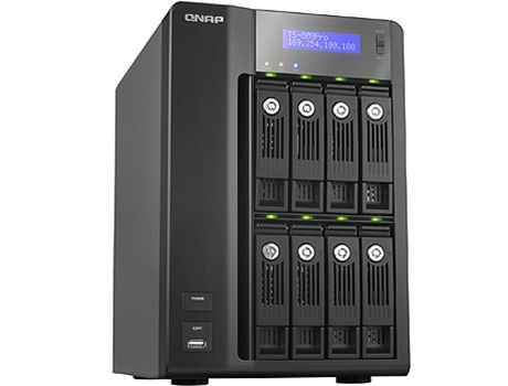 Qnap 16 Terabyte 16tb Turbo Nas Ts 809 Pro 8 Bay High