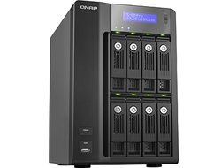 QNAP 8 Terabyte (8TB) Turbo NAS TS-809 Pro 8-Bay High Performance RAID 0/1/5/6/JBOD Network Attached Storage Server with iSCSI for Business - Powered by Seagate ST31000528AS 1TB 32MB Cache 7200RPM SATA/300 Hard Drive New w/ 3 Year Warranty