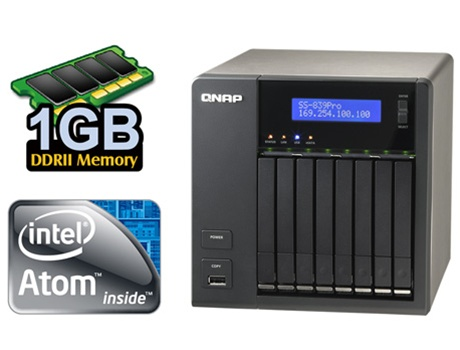 QNAP SS-839 PRO TURBO NAS DRIVER WINDOWS XP
