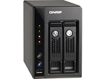 QNAP 2-Terabyte (2TB) Turbo NAS TS-259 Pro 2-Bay All-in-one Superior Performance Network Attached Storage Server with iSCSI for Business - (Powered by 2x Western Digital 1TB WD1002FAEX 2TB 64MB Cache SATA2 Hard Drive - New w/ 3 Year Warranty)