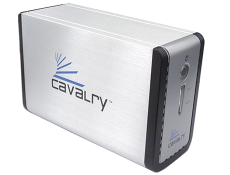 Cavalry Dual Bay Sata To Usb 2 0 Jbod Big External Hard