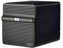 Synology DS411+II High-Performance & Easy to Manage 4-bay All-in-1 NAS Server for SMB Users (Diskless) - Retail