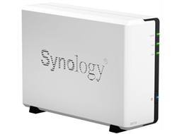 Synology DS112J Budget-Friendly 1-bay All-in-one NAS Server (Diskless) for Home User  - Retail