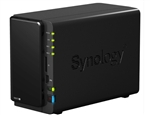 Synology DS212+ 2-Bay High-Performance Gigabit iSCSI All-in-one NAS Server for Small Business (Diskless) - Retail