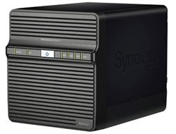 Synology DS411 4-Bay Feature-rich Gigabit iSCSI All-in-one RAID 0/1/5/6/10 NAS Server for Workgroups & Offices (Diskless) - Retail