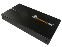 "HornetTek Rhino HT-204U2S Black Box 2.5"" USB 2.0 Portable External Hard Drive Enclosure"