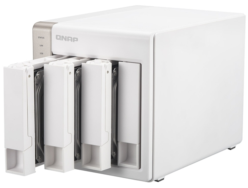 QNAP TS-451 (20TB) 4-Bay Personal Cloud NAS, Intel 2 41GHz Dual Core CPU  with Media Transcoding with HDMI output, DLNA, AirPlay and PLEX Support