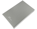 "Avolusion HD250U3 Ultra Slim SuperSpeed USB 3.0 2.5"" External Hard Drive Enclosure (Silver) (for 2.5"" SSD & SATA Hard Drive) - 2 Year Warranty"