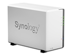 Synology DS216J 2-Bay Gigabit iSCSI NAS Server for Small Office & Home (Diskless) - Retail