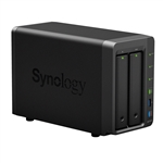 Synology DS716+II High-performance & Scalable 2-Bay Gigabit iSCSI All-in-one RAID 0/1 NAS Server for Home and Small Business (Diskless) - Retail